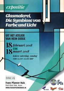 FP tentoonstelling glas in lood A5 NL