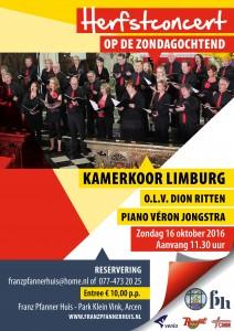 FP Herfstconcert Kamerkoor Limburg