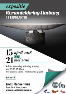 FP poster tentoonstelling keramiek
